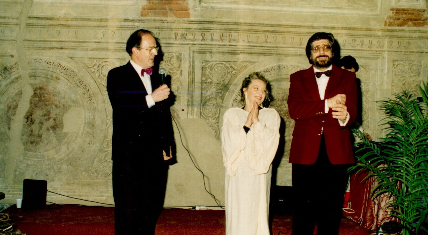 1991 Sala Riario - Briciole d'amore - Con l'attore e poeta Angelo Blasetti